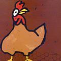 chicken Scratch by Ron York