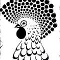 Chicken Tattoo  by Paulo Zerbato