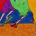 Chicken Walk by Michele Sleight