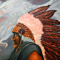 Chief Eagle Cloud by Barney Napolske