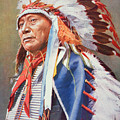Chief Hollow Horn Bear by American School