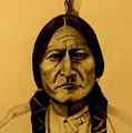 Chief Sitting Bull  Tatanka Iyotake by Michelle Dallocchio