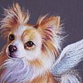 Chihuahua Angel by Elena Kolotusha