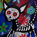 Chihuahua Day Of The Dead by Pristine Cartera Turkus