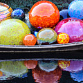 Chihuly Exhibit At The Denver Botanic Gardens by Becky Canterbury