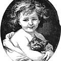 Child & Pet, 19th Century by Granger