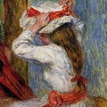 Child Head by Renoir PierreAuguste
