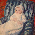 Child On A Sofa by Mary Cassatt