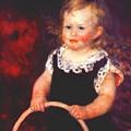 Child With A Hoop by Renoir PierreAuguste