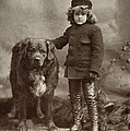 Child With Dog, C1885 by Granger