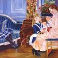 Children Afternoon At Wargemont Marguerite 1884 by Renoir PierreAuguste