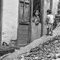 Children At Sankhuwasabha, Nepal by Kirk Dearden
