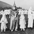 Children In Ku Klux Klan Costumes Pose by Everett