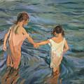 Children In The Sea by Joaquin Sorolla y Bastida