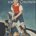 Children's Crusade For Children by Norman Rockwell