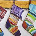 Children's  Socks For Christmas Gifts by Irina Gromovaja