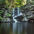 Child's Park Waterfall 2 by Eleanor Bortnick