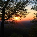Chilhowee Sunset by Kathryn Meyer
