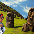 Chile Easter Island by Paul Meijering