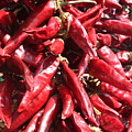 Chili Peppers by Yvonne Ayoub