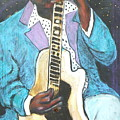Chilin Blues John Lee Hooker by Todd  Peterson