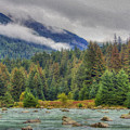 Chillkoot River Hdr Paint by Richard J Cassato