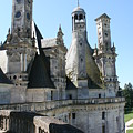 Chimney From Chambord - Loire by Christiane Schulze Art And Photography