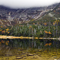 Chimney Pond During Fall - Baxter State Park Maine by Brendan Reals