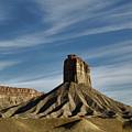 Chimney Rock Butte Sw Co by Dave Gordon