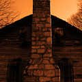 Chimney Sky In Sepia by Jason Wade