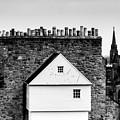 Chimneys In Edinburgh by Hari Menon