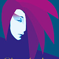 China Girl Blue by Quim Abella