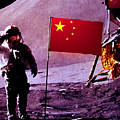 China On The Moon by Tray Mead