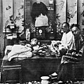 China: Opium Smokers by Granger