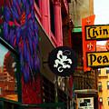 China Pearl Sign, Chinatown, Boston, Massachusetts by Lita Kelley