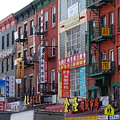 China Town Buildings by Rob Hans