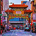 Chinatown Arch Philadelphia by Bill Cannon