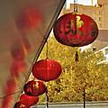 Chinatown - Chinese Lanterns by Kaye Menner