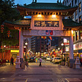 Chinatown Gate Boston Ma by Toby McGuire