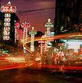 Chinatown In Bangkok by Brad Rickerby