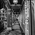 Chinatown In Singapore - Entry To The Saff Hotel by Joerg Lingnau