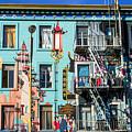 Chinatown Mural On Broadway by Bonnie Follett