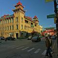 Chinatown Scene by Sven Brogren