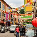 Chinatown Singapore by Michael Scott