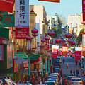 Chinatown Street Scene by Bonnie Follett