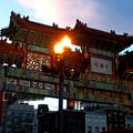 Chinatown Washington Dc by Wayne Higgs