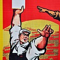 Chinese Communist Party Workers Proletariat Propaganda Poster by Imran Ahmed
