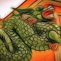 Chinese Dragon Art by David Coleman