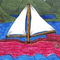 Chinese Fishing Boat by Lynnette Jones