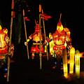 Chinese Lantern Festival British Columbia Canada 9 by Bob Christopher
